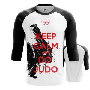 Merch Raglan Keep Calm And Do Judo