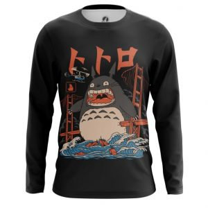 Merchandise Long Sleeve Angry Totoro Art