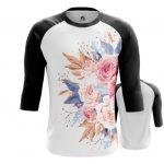 Merchandise Raglan Flowers Painted Floral Art