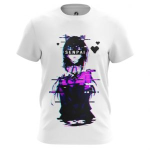 Merchandise T-Shirt Glitch Senpai Anime Girl