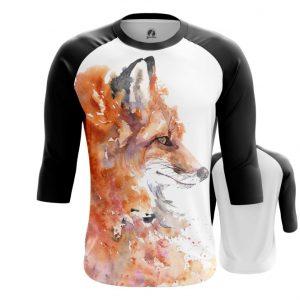 Collectibles Raglan Watercolor Fox Foxy