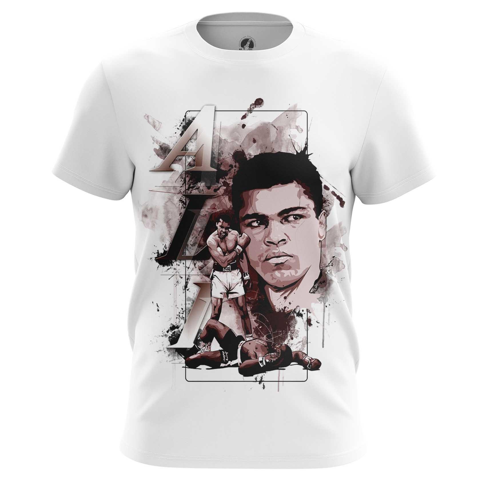 Merch Raglan Muhammad Ali Print