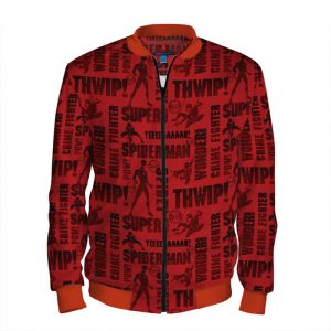 people 101 man bomber front red 700