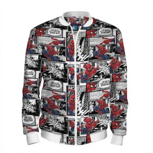- People 101 Man Bomber Front White 700 7