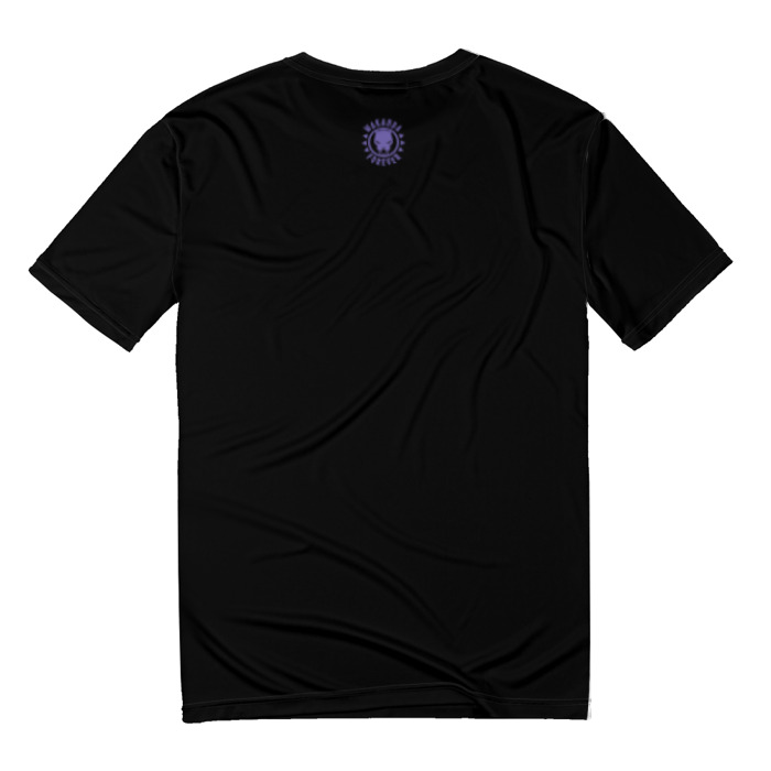 Collectibles T-Shirt Painted Print Black Panther Wakanda