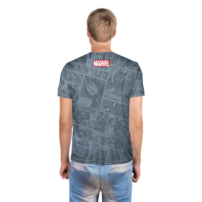 Collectibles T-Shirt Spider-Man Comic Books Pages