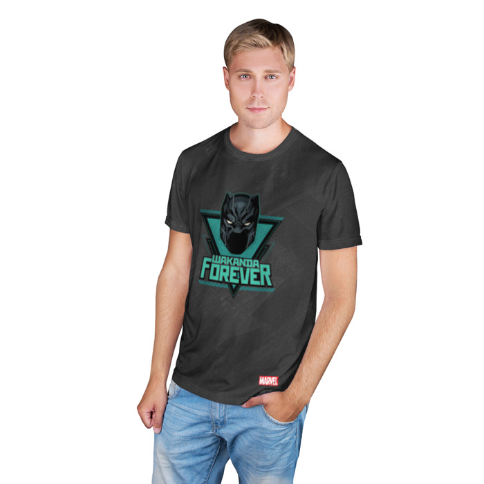 Merch T-Shirt King Of Wakanda Forever Black Panther