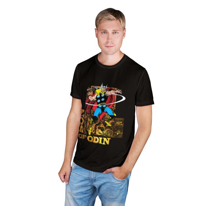Merchandise T-Shirt Son Of Odin Thor Retro Print Apparel