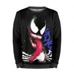 Merch Sweatshirt Black Monster Venom Gaming Sweater