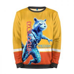 Merchandise Sweatshirt Rocket Raccoon Avengers Endgame
