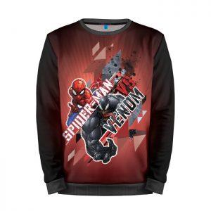 Collectibles Sweatshirt Spider-Man Against Venom