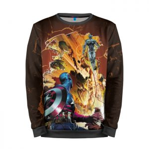 Collectibles Sweatshirt Age Of Ultron Captain America