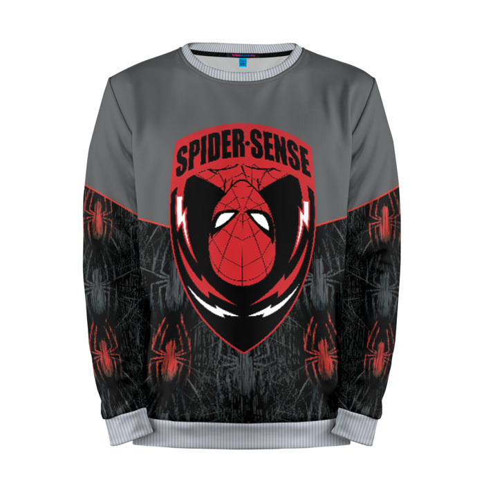 Merch Sweatshirt Spider-Man Badge Red Logo