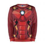 Collectibles Sweatshirt Iron Man Armor Torso Print