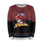 Merchandise Sweatshirt Spider-Man Marvel'S Black Red