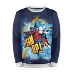 Merchandise Sweatshirt Team Up! Spider-Man Blue