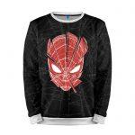 Collectibles Sweatshirt Red Spiderweb Head Spider-Man