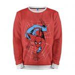 Merch Sweatshirt Cartoon Spider-Man