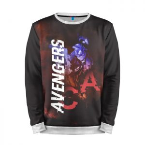 Merchandise Sweatshirt Captain America Avenger