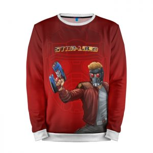 Merchandise Sweatshirt Star-Lord Red Guardians Of The Galaxy