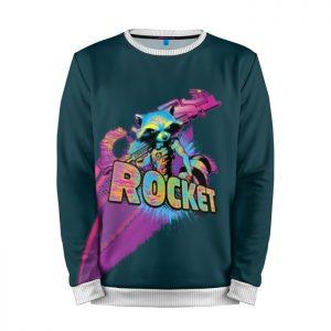 Merchandise Sweatshirt Raccoon Rocket Guardians Of The Galaxy