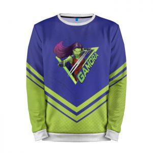 Merchandise Sweatshirt Gamora Green Guardians Of The Galaxy