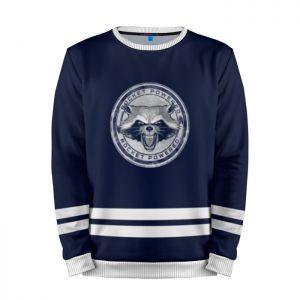 Merchandise Sweatshirt Rocket'S Emblem Guardians Of The Galaxy