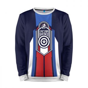 Merchandise Sweatshirt Captain America Shield Emblem