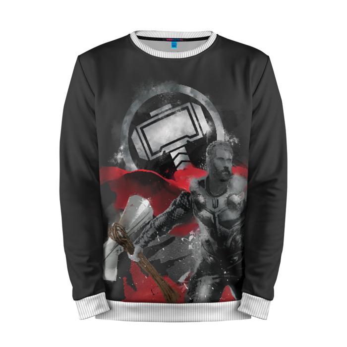 Merch Sweatshirt Thor Axe And Hammer