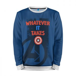 Merchandise Sweatshirt Whatever It Takes Captain America