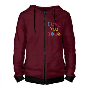 Collectibles Zipper Hoodie I Love You 3000 Iron Man Avengers