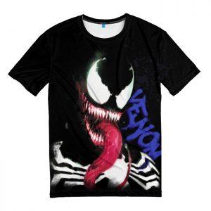 Collectibles Venom T-Shirt Eyes Monster Art