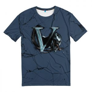 Collectibles T-Shirt V-Venom Letter Logo