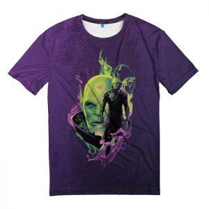 Merchandise T-Shirt Talos Purple Captain Marvel