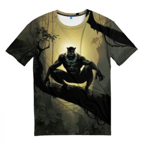 Collectibles T-Shirt Hiding Black Panther Art
