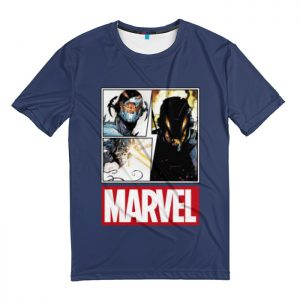 Collectibles T-Shirt Ultron Collage Logo Pattern