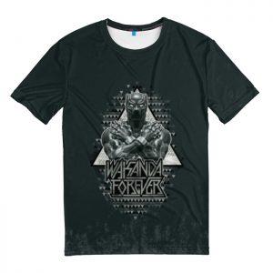 Collectibles T-Shirt American Superhero Black Panther
