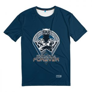 Collectibles T-Shirt Long Live The King Black Panther