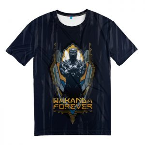 Collectibles T-Shirt Golden Wakanda Forever Black Panther
