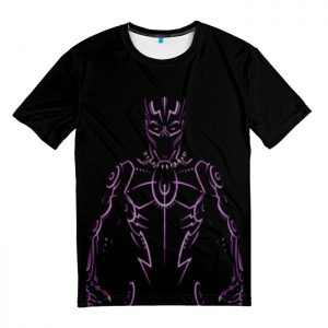 Collectibles T-Shirt T'Challa Armor Lines Black Panther
