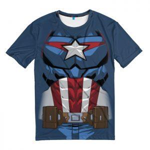 Merchandise T-Shirt Captain America Costume Inspired