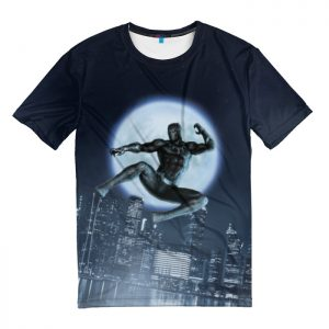 Collectibles T-Shirt Black Panther Comic Books Attacks