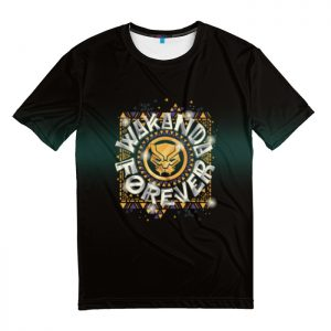 Collectibles T-Shirt Golden Black Panther Wakanda Forever