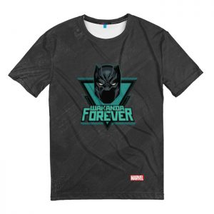 Collectibles T-Shirt King Of Wakanda Forever Black Panther