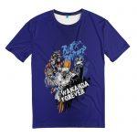 Merch T-Shirt Black Panther Wakanda Forever