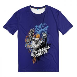 Collectibles T-Shirt Black Panther Wakanda Forever
