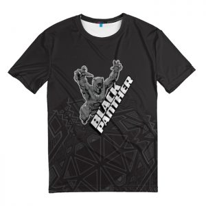 Collectibles T-Shirt Attacks Black Panther