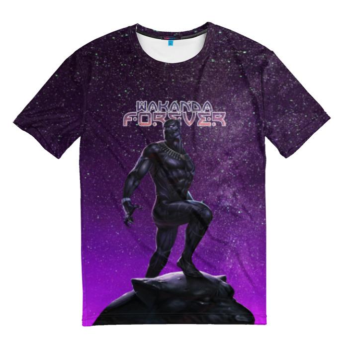 Merch T-Shirt Wakanda Forever Black Panther