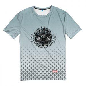 Collectibles T-Shirt Logo Black Panther Wakanda