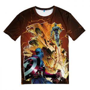 Merchandise T-Shirt Ultron Vs Captain America